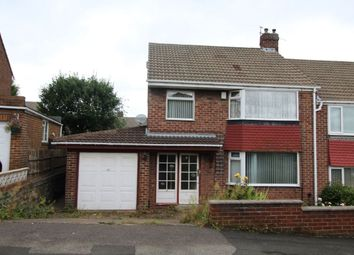Thumbnail 3 bed semi-detached house for sale in Cherrytree Drive, Whickham, Newcastle Upon Tyne