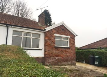 Thumbnail 2 bed bungalow to rent in Queens Rise, Bradford
