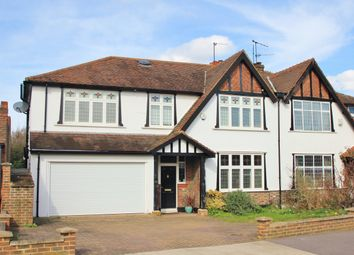 Thumbnail 5 bed semi-detached house for sale in The Ridings, Berrylands, Surbiton