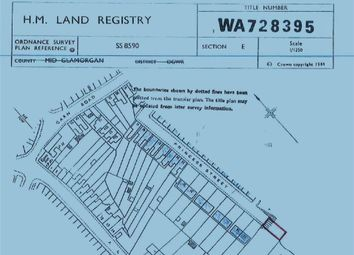Thumbnail Land for sale in Princess Street, Maesteg, Maesteg, Mid Glamorgan
