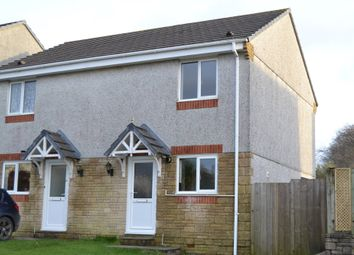 Thumbnail 2 bed semi-detached house to rent in Clemens Road, St. Keyne, Liskeard