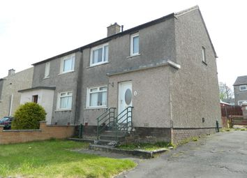 Thumbnail 2 bedroom semi-detached house for sale in Lauder Crescent, Wishaw