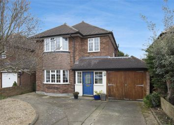 Thumbnail 3 bed detached house for sale in Southfields, East Molesey, Surrey