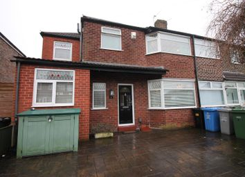 Thumbnail 4 bed semi-detached house for sale in Aldermere Crescent, Urmston, Manchester