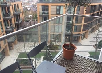 Thumbnail 1 bed flat to rent in Plaza Gardens, London