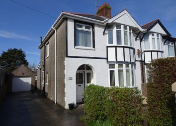 Thumbnail 4 bed semi-detached house for sale in Nicholls Avenue, Porthcawl