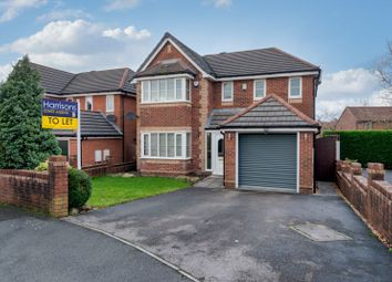Thumbnail 4 bed detached house to rent in Chadbury Close, Chew Moor, Lostock, Bolton, Lancashire.