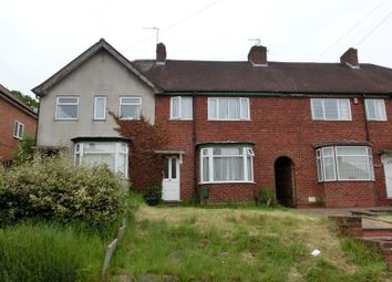 Thumbnail 3 bedroom terraced house for sale in Gracemere Crescent, Hall Green, Birmingham