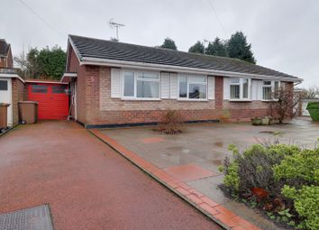 Thumbnail 2 bed semi-detached bungalow for sale in Churchfield Close, Stafford