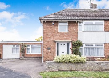 Thumbnail 4 bed semi-detached house for sale in Seagrave Drive, Oadby, Leicester