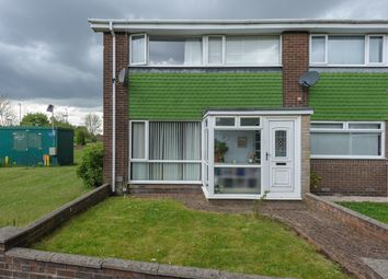 Thumbnail 3 bed end terrace house for sale in Broadstone Way, Wallsend