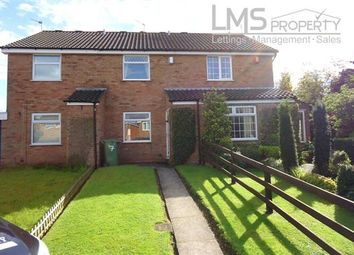 Thumbnail 2 bed mews house for sale in Covert Close, Winsford