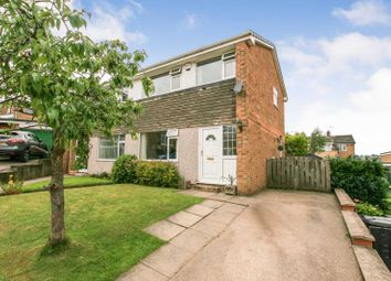 Thumbnail 3 bed semi-detached house for sale in Rubens Close, Dronfield, Derbyshire