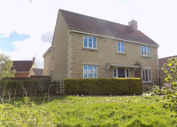 Thumbnail 5 bedroom detached house for sale in Minnow Close, Swindon