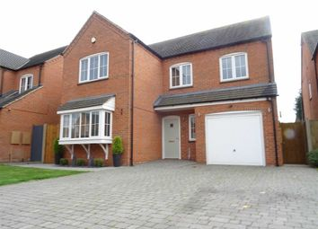 Thumbnail 4 bed detached house for sale in Cotes Road, Burbage, Hinckley