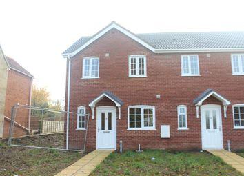 Thumbnail 2 bedroom end terrace house for sale in Chapel Lane, West Winch, King's Lynn