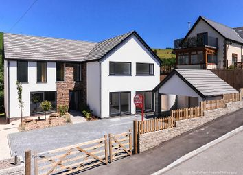 Thumbnail 5 bed detached house for sale in Mountain Road, Llangeinor, Bridgend, Mid Glamorgan.