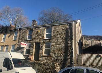 Thumbnail 2 bed end terrace house for sale in Cardiff Road, Troedyrhiw, Merthyr Tydfil, Mer
