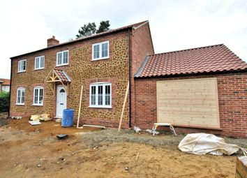 Thumbnail 4 bed barn conversion for sale in Common Lane, North Runcton, King's Lynn