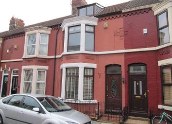 Thumbnail 4 bed terraced house to rent in Sunbourne Road, Aigburth, Liverpool