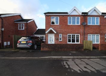 Thumbnail 3 bed semi-detached house for sale in Cwrt Y Ffoundri, Treforest, Pontypridd