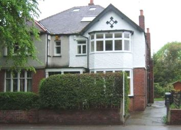 Thumbnail 7 bed semi-detached house to rent in Otley Road, Adel, Leeds