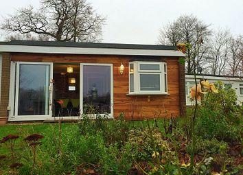Thumbnail 2 bedroom detached bungalow for sale in Lake View, Glan Gwna, Caeathro, Caernarfon