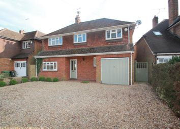 Thumbnail 5 bed detached house to rent in Connaught Road, Brookwood, Woking