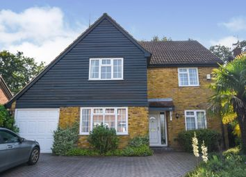 Thumbnail 4 bed detached house for sale in Martingale Road, Billericay