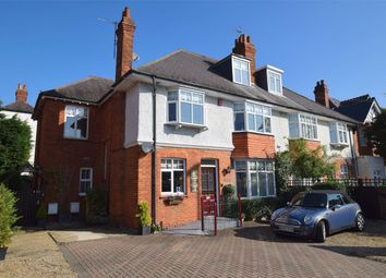 Thumbnail 5 bed semi-detached house for sale in London Road, Camberley, Surrey