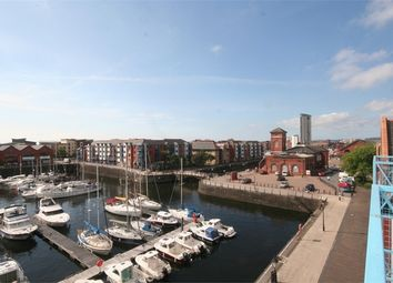 Thumbnail 2 bed flat to rent in Weavers House, Maritime Quarter, Swansea