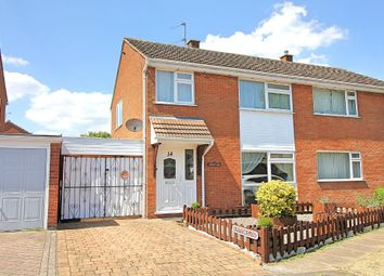 Thumbnail 3 bed semi-detached house for sale in Pitton Close, Wigston