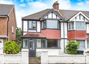 Thumbnail 3 bed end terrace house for sale in Forval Close, Wandle Way, Mitcham