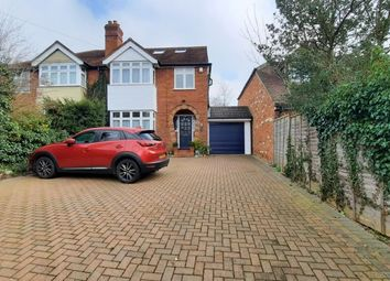 Thumbnail 4 bed semi-detached house for sale in Circuit Lane, Reading