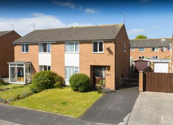 Thumbnail 3 bed semi-detached house for sale in Mitton Crescent, Kirkham, Preston