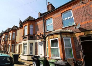 Thumbnail 4 bed terraced house to rent in Belmont Road, Luton