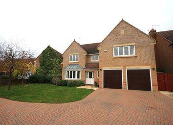 Thumbnail 5 bed detached house for sale in Martlet Close, Wootton, Northampton