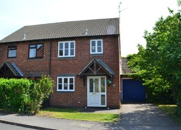 Thumbnail 3 bedroom semi-detached house to rent in Falcon Fields, Tadley
