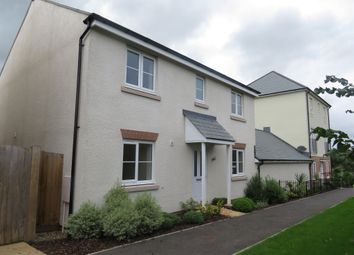 Thumbnail 4 bedroom detached house for sale in Long Orchard, Cranbrook, Exeter