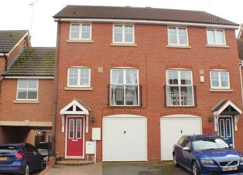 Thumbnail 3 bed town house to rent in Narrow Hall Meadow, Chase Meadow Square, Warwick