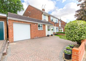 Thumbnail 4 bed semi-detached house for sale in Courtfield Avenue, Chatham, Kent