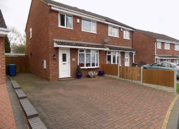 Thumbnail 3 bed semi-detached house for sale in Foxglove, Amington, Tamworth, Staffordshire