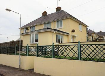 Thumbnail 3 bed semi-detached house for sale in Bentlass Terrace, Pembroke Dock