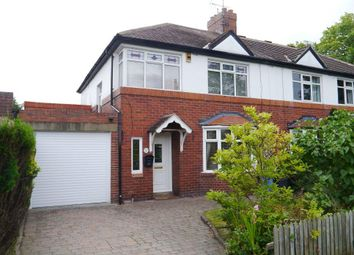 Thumbnail 3 bed semi-detached house to rent in Berwick Hill Road, Ponteland, Newcastle Upon Tyne