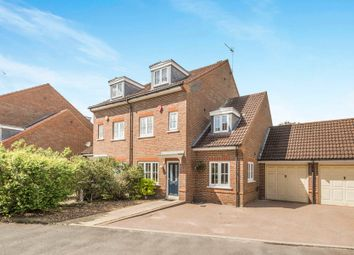 Thumbnail 5 bed semi-detached house for sale in Stanborough Mews, Stanborough Road, Welwyn Garden City