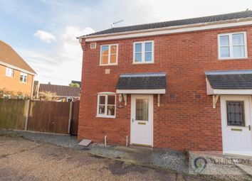 Thumbnail 2 bed semi-detached house for sale in Willowbrook Close, Carlton Colville, Lowestoft