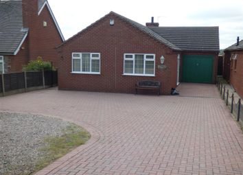 Thumbnail 2 bed detached bungalow to rent in Ashby Road, Donisthorpe, Swadlincote