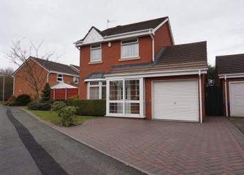 Thumbnail 3 bed detached house for sale in Coltsfoot Close, Wolverhampton