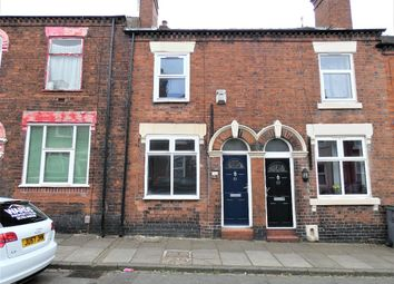 Thumbnail 2 bed terraced house to rent in Woolrich Street, Stoke-On-Trent, Staffordshire