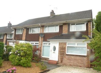 Thumbnail 3 bed end terrace house to rent in Rosefield Gardens, Uddingston Glasgow